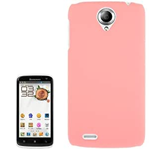 Anti-scratch Plastic Protective Case for Lenovo S820 (Pink)