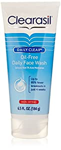 Clearasil Daily Clear Daily Face Wash: 6.5 OZ