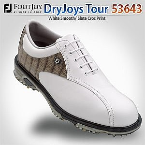 FootJoy Mens DryJoys Tour Golf Shoe with Bicycle Toe by FootJoy
