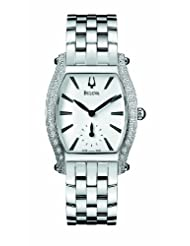 Accutron by Bulova Saleya Stainless Steel & Diamond Womens Watch 63R005