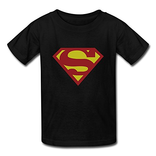 AOPO Superman LOGO T-shirts For Kids Unisex