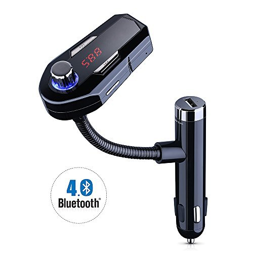 Aliexpress Com Buy Marsnaska High Quality Car Bluetooth Fm Music Receiver Car Bluetooth: VicTec Car Bluetooth Wireless FM Transmitter Dual USB Charger Hands-Free Calling, Music& Volume