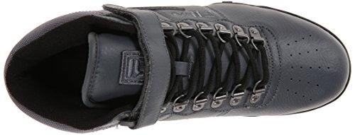 Fila Men's F-13 Weather Tech Hiking Boot, Castlerock/Black/Dark Silver, 13 M US