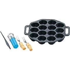 たこ焼セット 小 14穴 24021