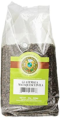 Rogers Family Company Whole Bean Coffee, Guatemala Mataquescuintla, 32 Ounce