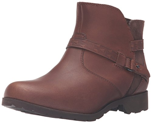 Teva Delavina Ankle-Mosaic, Stivaletti Donna, Marrone (Brown-Brnbrown-Brown), 38 EU