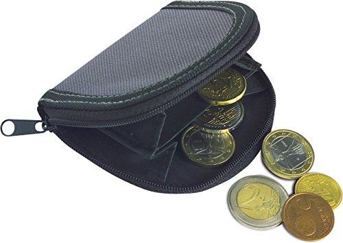 Borsellino portamonete porta monete a due scomparti con chisura lampo