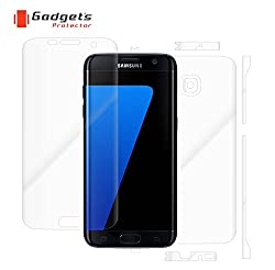 Gadgets Protector 0231778104 Samsung galaxy S7 Edge Total Body Protection - mobile scratch guard - screen guard - Screen Protectors - skins