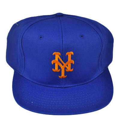 MLB NEW YORK METS OLD SCHOOL VINTAGE HAT CAP BLUE NEW at Amazon.com