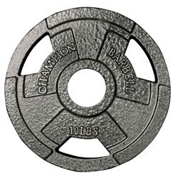 Olympic Grip Plate 10LB (EA)
