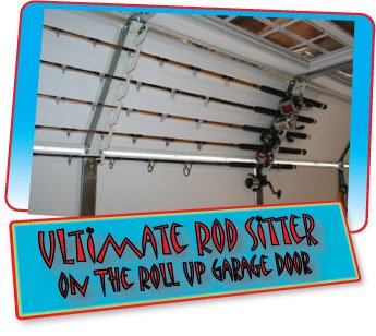 Ultimate rod sitter 10 fishing rod storage rack for How to store fishing rods