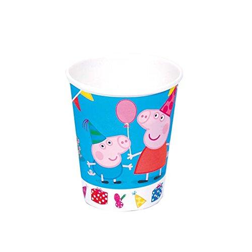 Peppa Pig - 8 vasos (Verbetena 016000722)