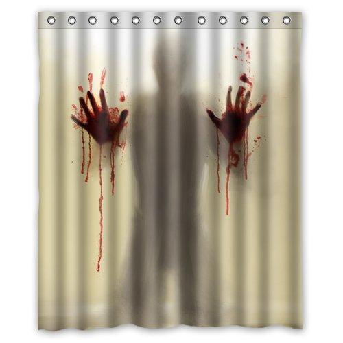 Horrific Halloween Shower Curtains
