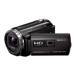 Sony HDR-PJ530 PJ-Serie HD Flash Camcorder (Full HD, 9,2 Megapixel, Sony G-Optik mit 30 fach Zoom, Projektor mit 25 Lumen und HDMI, NFC und WiFi Funktion) schwarz