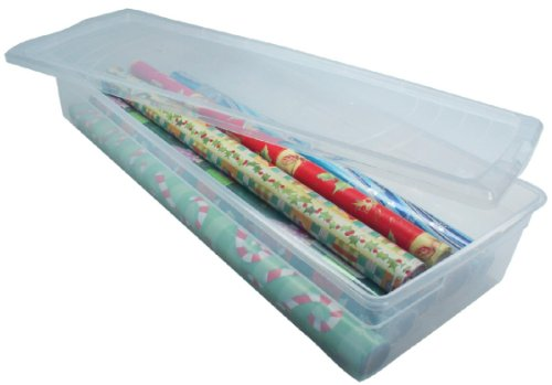 Underbed Gift Wrap Storage by Iris