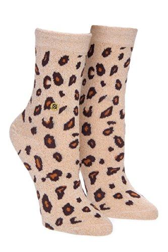 Stance Lone Leopard Crew Sock