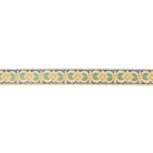 Readyroll Self Adhesive Border - Trevi Yellow - 61672