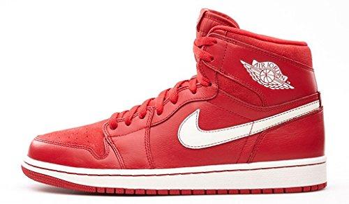 Nike air jordan retro OG 1, da pallacanestro, da ginnastica, scarpe 555088, (gym red/sail 601), S