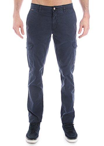 Napapijri-Pantalone multi-tasche in cotone -Male-4794474