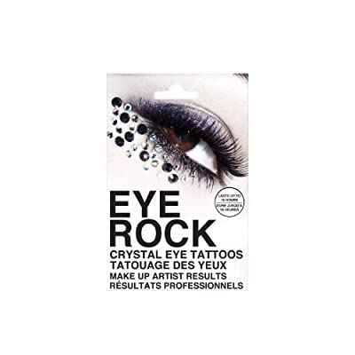 Eye rock crystal eye tattoos 3pairs eyeshadow for Crystal eye tattoos