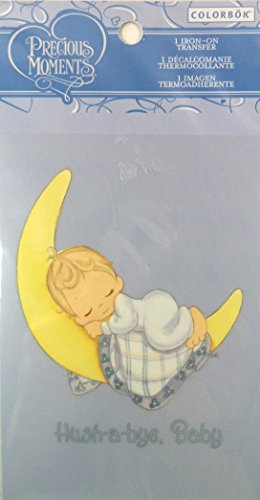 "Colorbok Precious Moments Iron On Transfer - ""Hush-A-Bye, Baby"". front-239869"