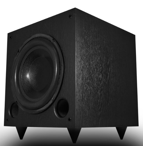 Osd Audio Ps10 10-Inch High Powered 120-Watt Premium Home Theatre Subwoofer, Black