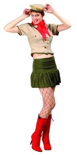 Adult Sexy Scout Costume Size Large (8-10)
