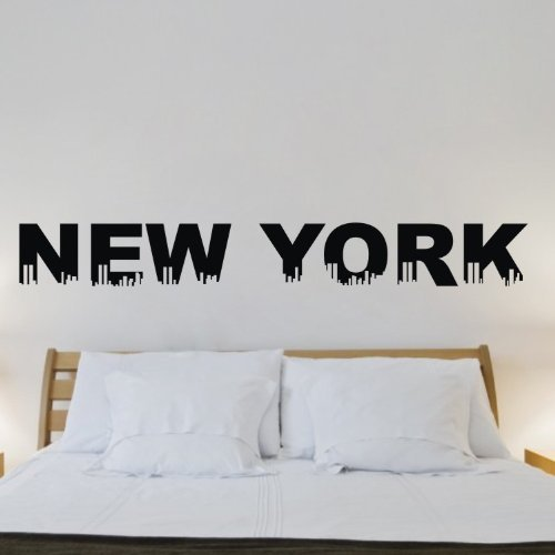 Funk 39 n beauty with new york city wall decals funk this house for Sticker mural new york