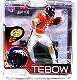 McFarlane Toys Action Figure - NFL Sports Picks 2012 Series 30 - TIM TEBOW (Bronco Orange Jersey)