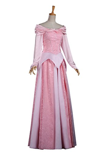Halloween 2017 Disney Costumes Plus Size & Standard Women's Costume Characters - Women's Costume CharactersDisney Sleeping Beauty Aurora Brocade Satin Adult Cosplay Costume