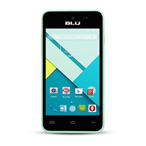BLU Advance 4.0L Unlocked Smartphone -Global GSM - Green