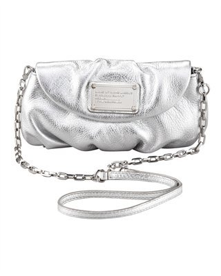 622b394324 MARC by Marc Jacobs Metallic Classic Q Karlie Crossbody Bag - Silver