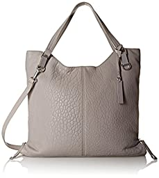 Vince Camuto Riley Tote Shoulder Bag, Frost Gray, One Size
