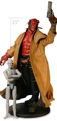 Buy Low Price Sideshow Hellboy Quarter Scale Figure (1/4 Scale – 21 inches tall) from Hellboy (Sideshow) (B000NMAMQ2)