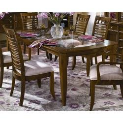 Buy Low Price Wynwood CLOSEOUT SPECIAL! – Dining Table with Insert Glass Top – Wynwood Furniture – 1878-30 (1878-30)