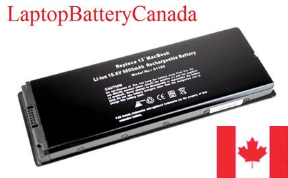 Brand New Replacement Battery for Apple Macbook 13 Inch / 13'' Black Model - Part Number A1185 / A1181 / MA561 - BatteryBargainCanada