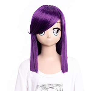 Cosplay Wigs Anime Wigs Mobile Suit Gundam 00 TieriaErde purple long wig Hair wigWigs Costume Wig for party