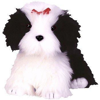 Ty Beanie Babies - Poofie the Dog - 1