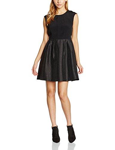 SEE U SOON 5221661, Vestito Donna, Noir (Black/Blac), 42