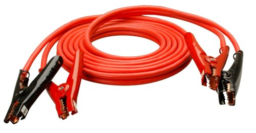 Coleman Cable 08660 Heavy-Duty 4-Gauge Auto Battery Booster Cables with Polar Glo-Watt Clamps (20 Feet)
