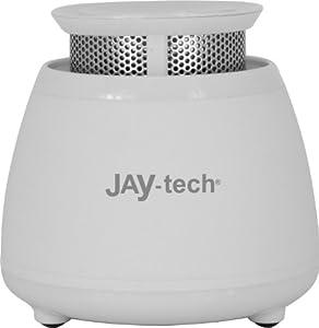 JAY-tech GP503 Kabelloser Buetooth Mini-Bass Lautsprecher, weiß