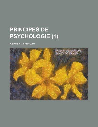 Principes de Psychologie (1)