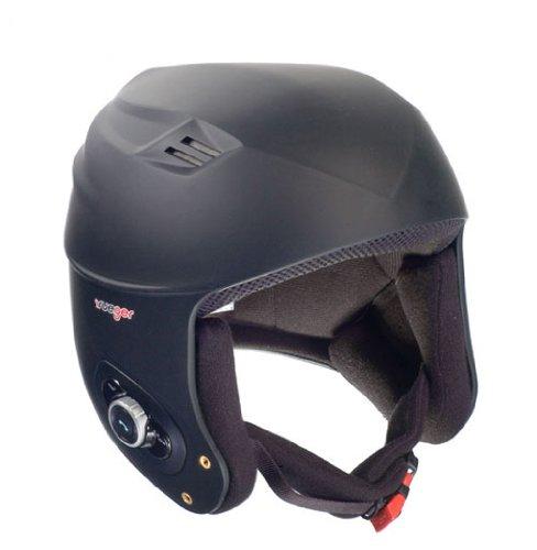 rueger Skihelm Snowboardhelm RW-620 Matt Schwarz mit Bluetooth und neuester CE-Prfung EN1078 fr ihre Sicherheit