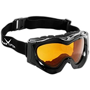 Black Canyon Childrens Ski Goggles - Black