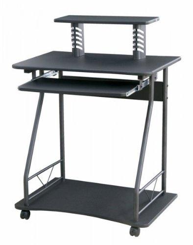 Buy Low Price Comfortable Storage Computer Cart (Black) (38″H x 28.6″W x 18″D) (B003SA6M4C)