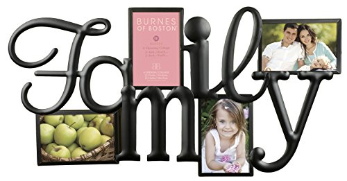 Burnes of Boston 542540 Family 4 Opening Wall Collage (Burnes Of Boston Picture Frames compare prices)