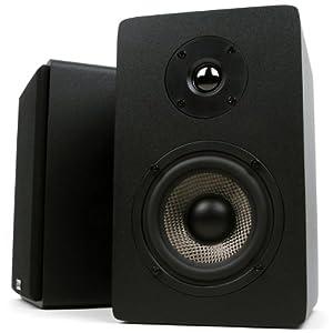 Micca MB42X Bookshelf Speakers (Black)