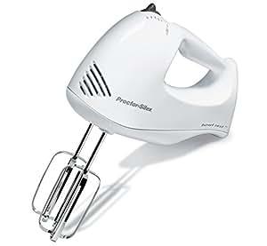 Proctor Silex 62535 Bowl Rest 5-Speed Mixer, White