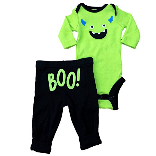 Carters Infant Boys Halloween Outfit Monster Bodysuit & Pants