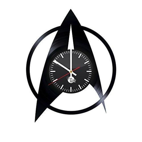 Star Trek Insignia Vinyl Record Wall Clock